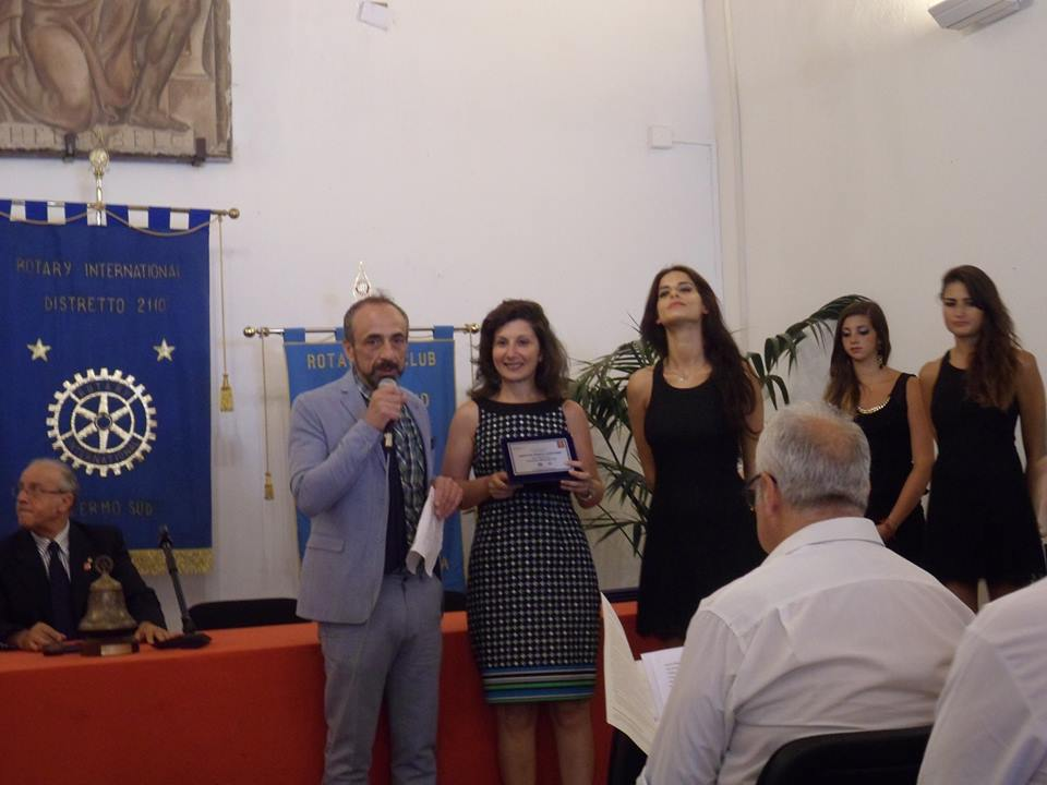 "2014 Palermo – Awarded in international competition ""Adopting Uditore park"", section visual art, organized by Rotary club"