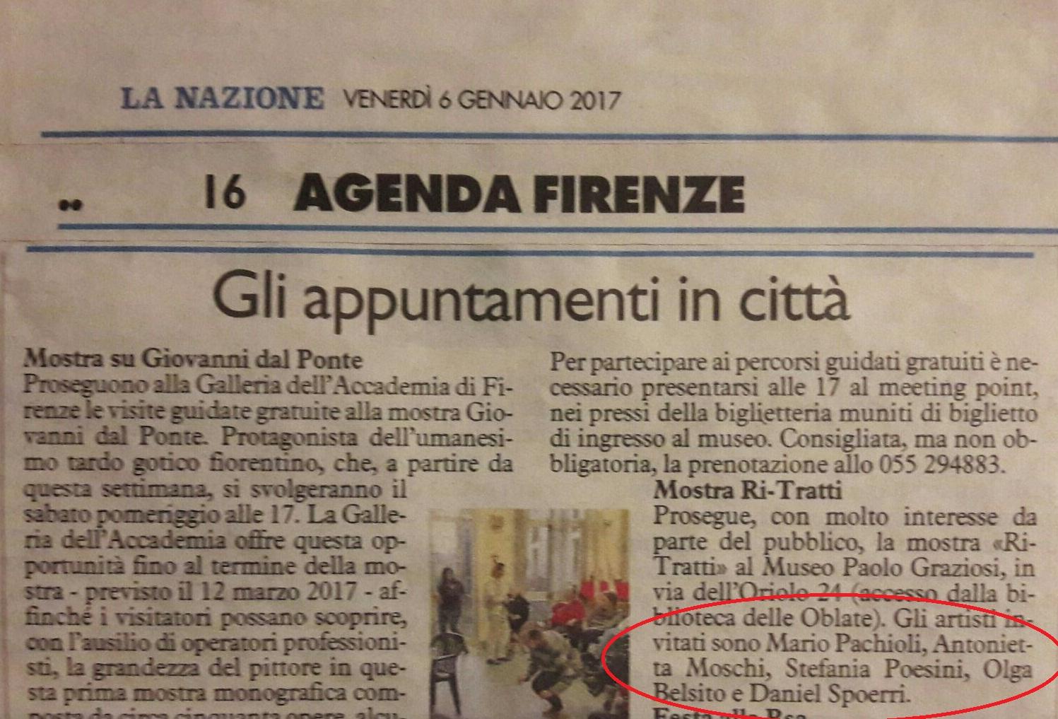 La Nazione Firenze 2017