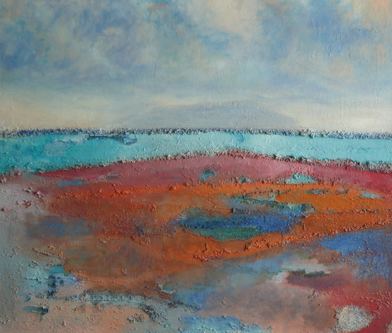 2011 - Saline of Trapani - 60x70 - oil and mixed media on canvas